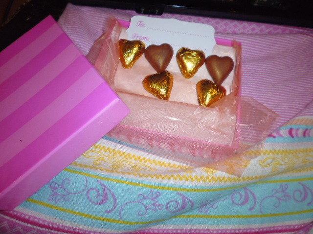 scatola di cioccolatini in fimo