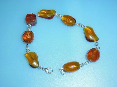 bracciale color ambra