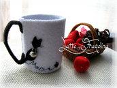 tazzina da caffè - gatto nero