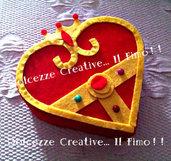 Cofanetto in legno Cristallo del cuore di Sailor Moon