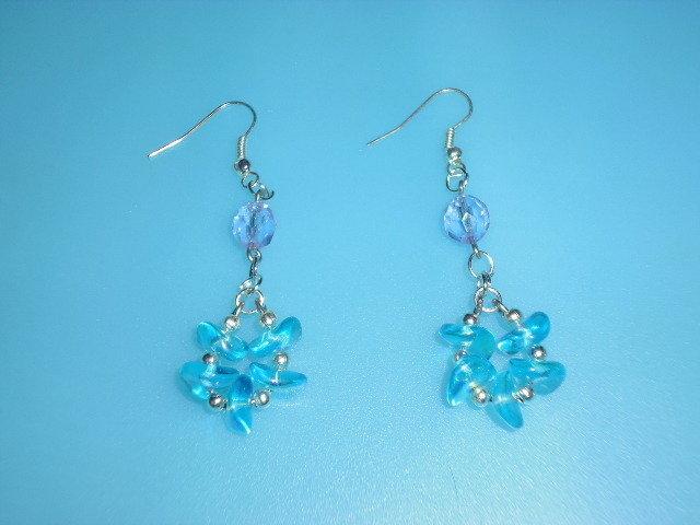 orecchini pietre azzurre