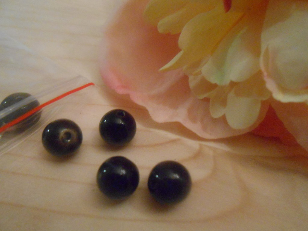 Perle in vetro a sfera