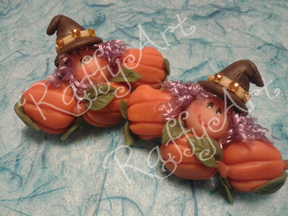 """Fermacapelli """"Halloween Happy Witch"""""""