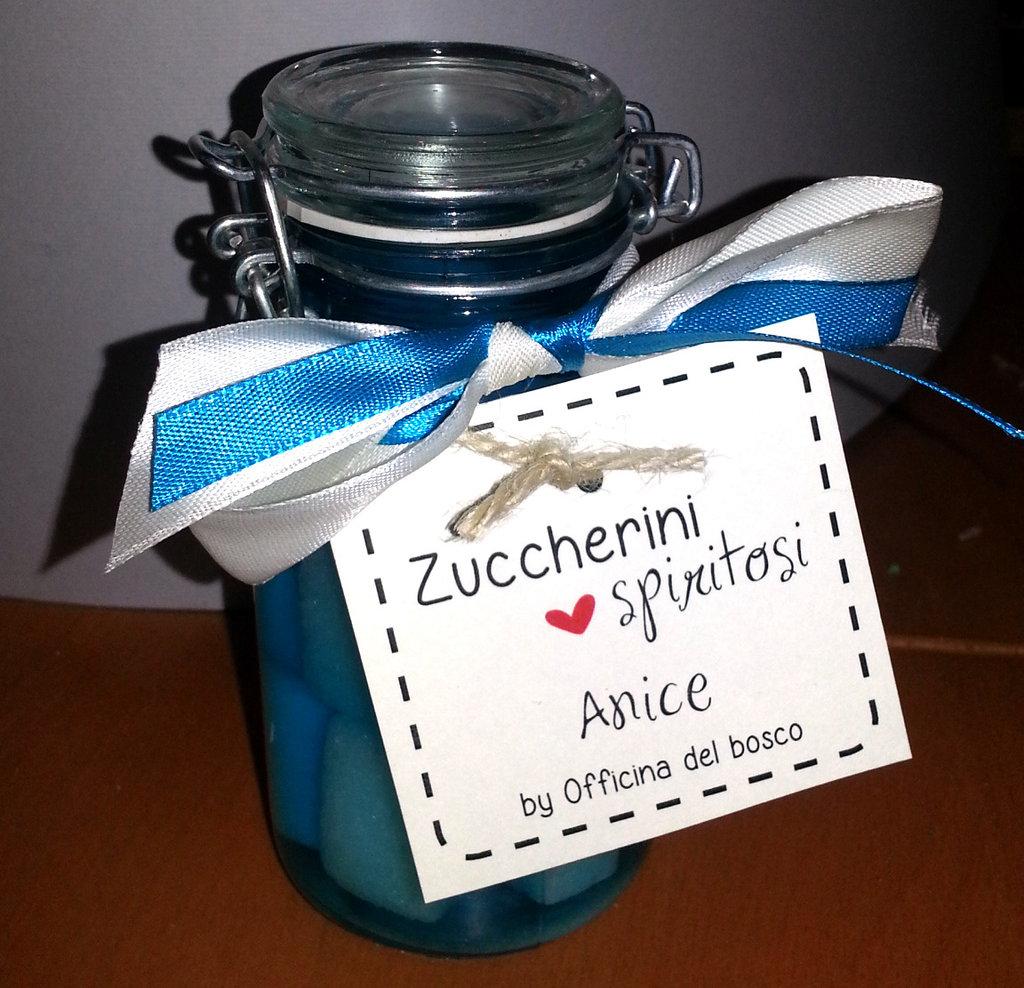 Zuccherini spiritosi aromatici
