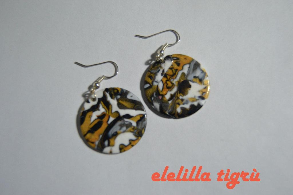 orecchini tigrù