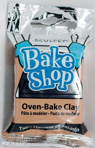 Sculpey Bake Shop Tan Avano 2oz 57g
