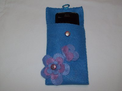 Porta cellulare di pannolenci