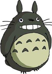"""Schema punto croce """"Totoro"""""""