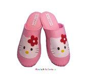 "Pantofole in feltro fatte a mano ""Hello Kitty"""