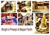 Natale, Borghi e Presepi e candele