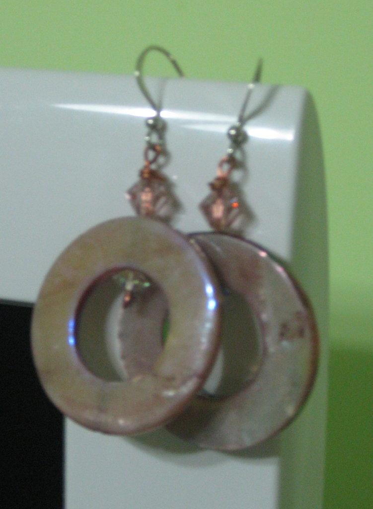 orecchini rosa