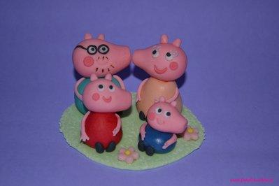 Cake Topper per Compleanno bimbi in pasta di zucchero