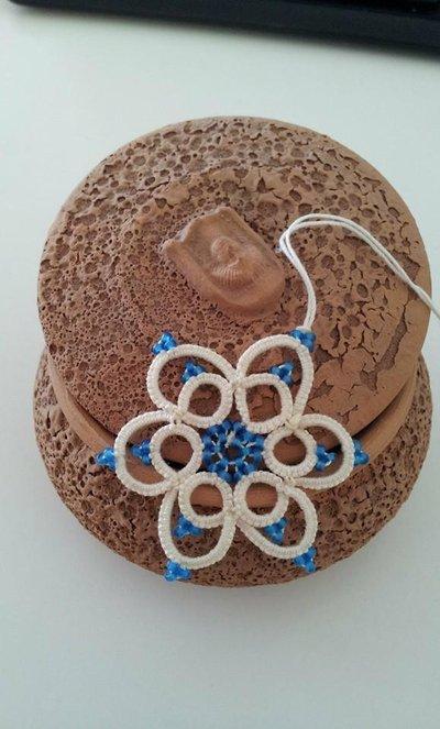 Fiocco di Neve a Pizzo Chiacchierino, decorazione natalizia
