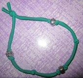 bracciale lycra verde 2 giri