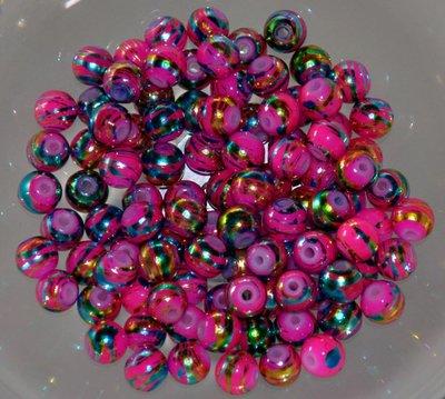 Perle rosa striate