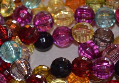 Mix perle sfaccettate