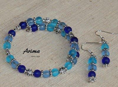 Braccialetto e orecchini 7 - Arima
