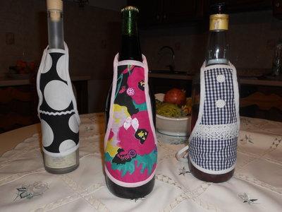 """Grembiule"" per bottiglie"