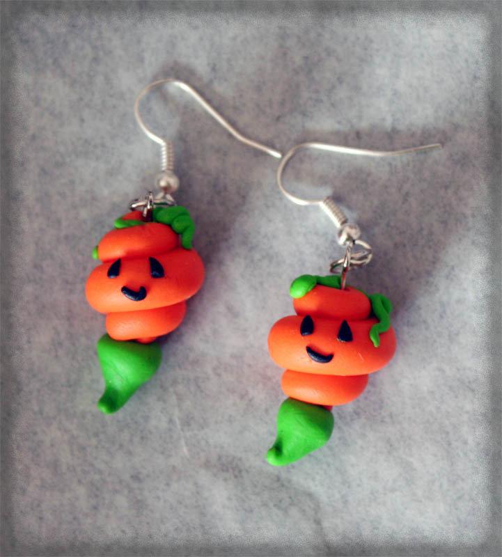 Orecchini Zucche Halloween