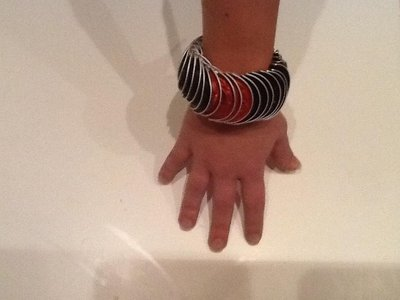 Coffee bracelet - Bracciale con cialde riciclate Nespresso
