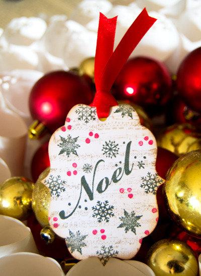 SALDI Christmas Targhette 6 pezzi