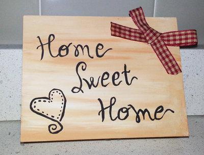 quadretto home sweet home