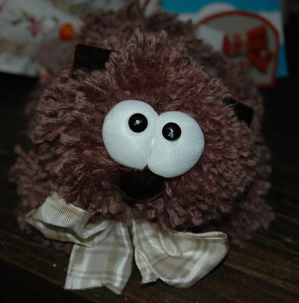 Peluche Gatto in lana