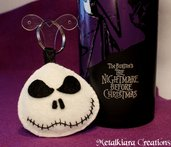 Portachiavi Jack Skeletron - The Nightmare Before Christmas pannolenci/feltro