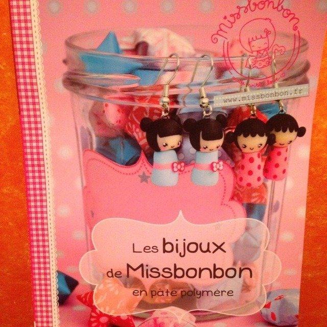 Libro Les Bijoux De Missbonbon En Paté Polymère