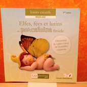 Libro Elfes,Fees Et Lutins En Paté Polymère Froide