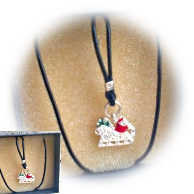 Collana Slitta Babbo Natale