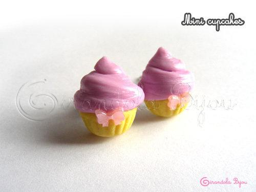 Mini cupcakes, lilla