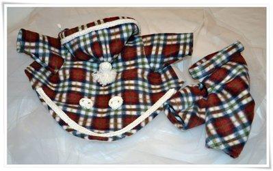Giacca con pantaloni scozzesi