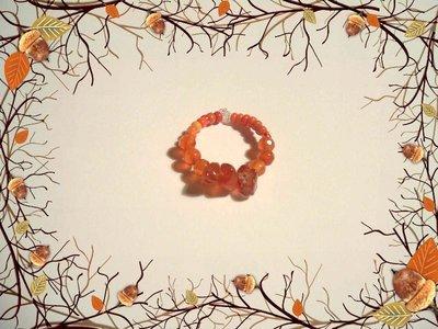 Anello Indian Style Orange