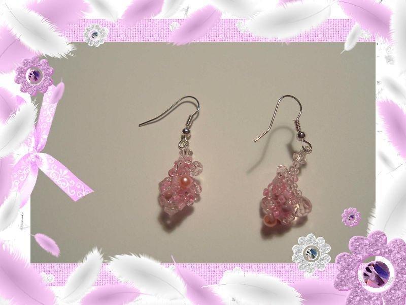 Orecchini Pink Princess