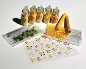 Idea Regalo: Kit per Nail Art^^ - Yellow! - confezione regalo (10 pz)