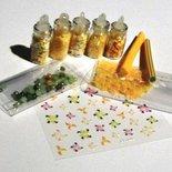 Idea Regalo: Kit per Nail Art^^ - Yellow! - confezione regalo (10 pz)