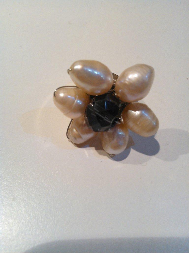 anello perle
