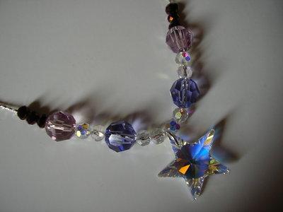 Luminosa collana con swarovski