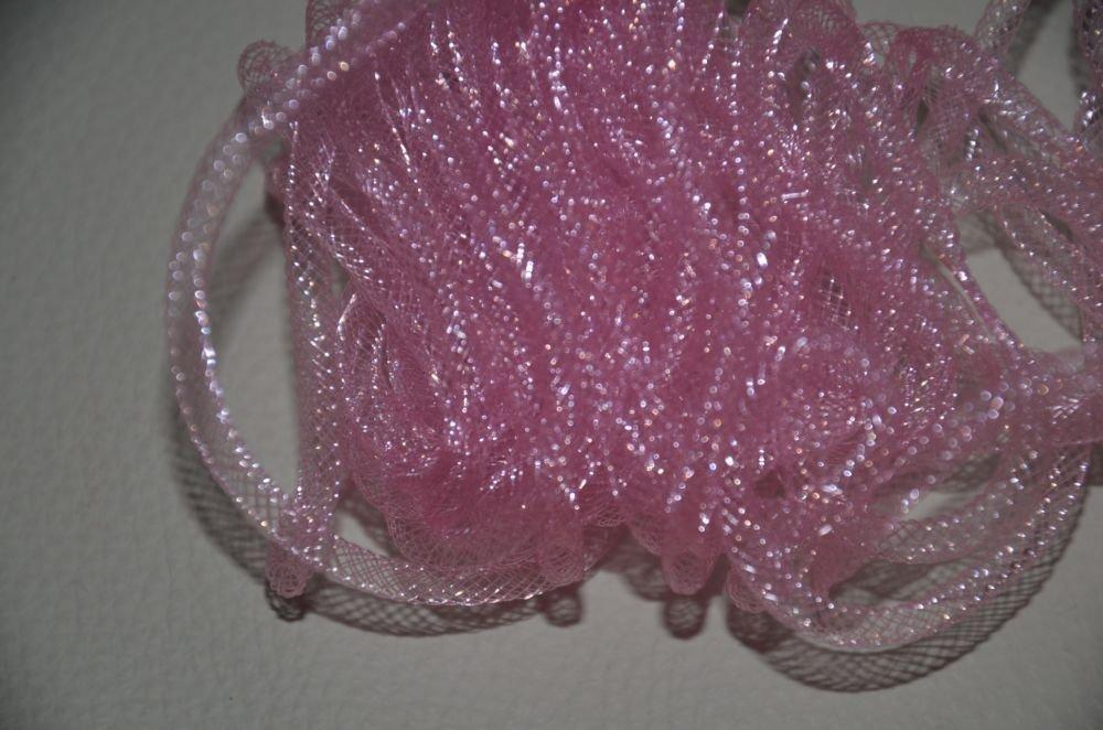 Tubolare Plastica Rosa