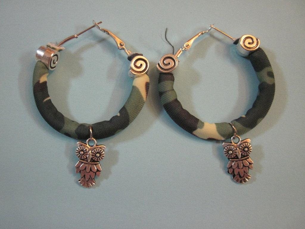 orecchini cerchio