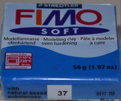 FIMO SOFT BLU PACIFICO N.37