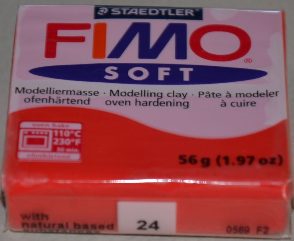 FIMO SOFT ROSSO INDIANO N. 24