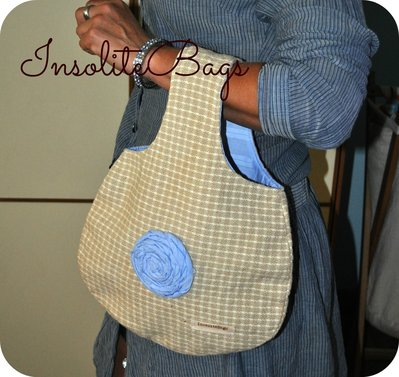 Handmade fabric bag