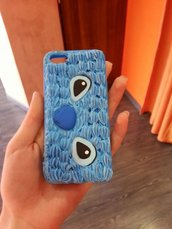 cover i phone 5 stitch fatta a mano.