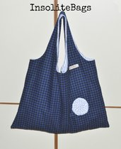 Handmade fabric bag