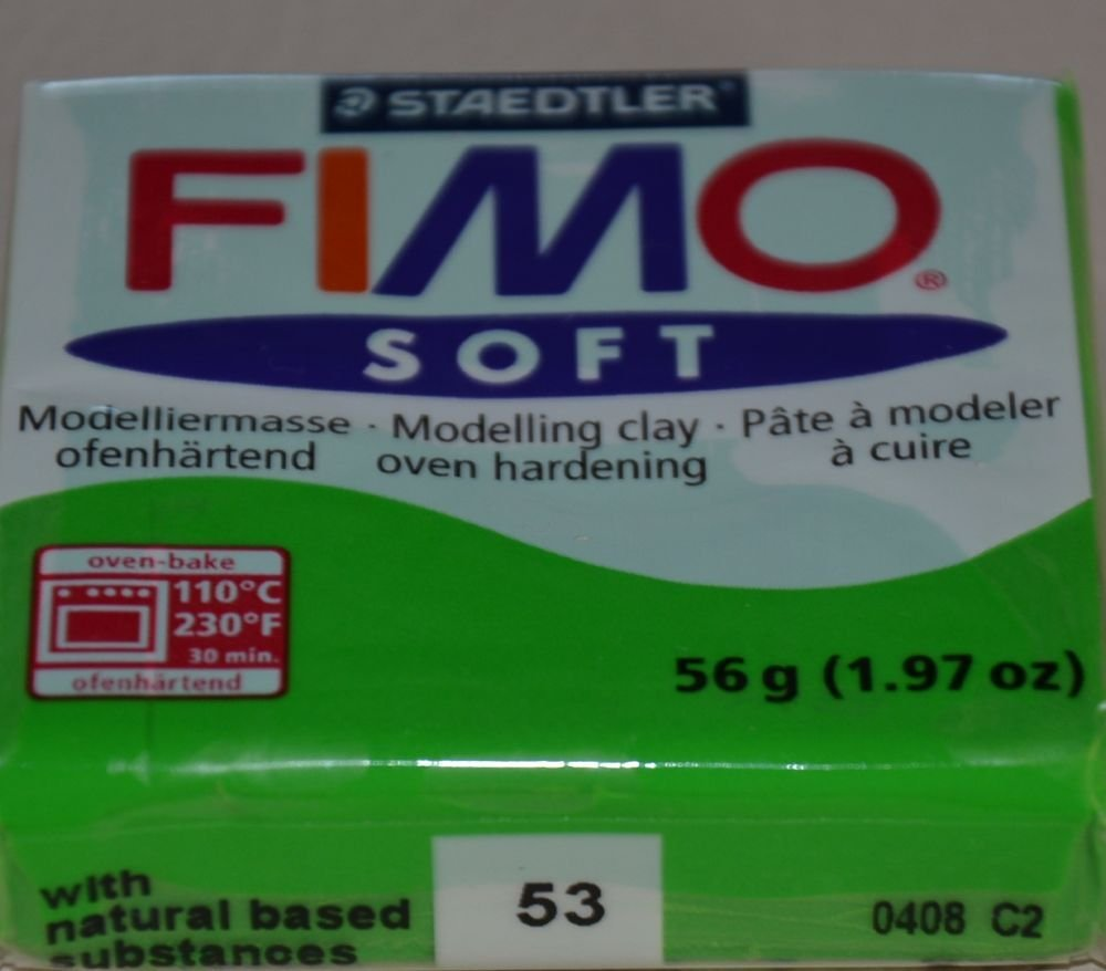 FIMO SOFT VERDE TROPICALE N. 53