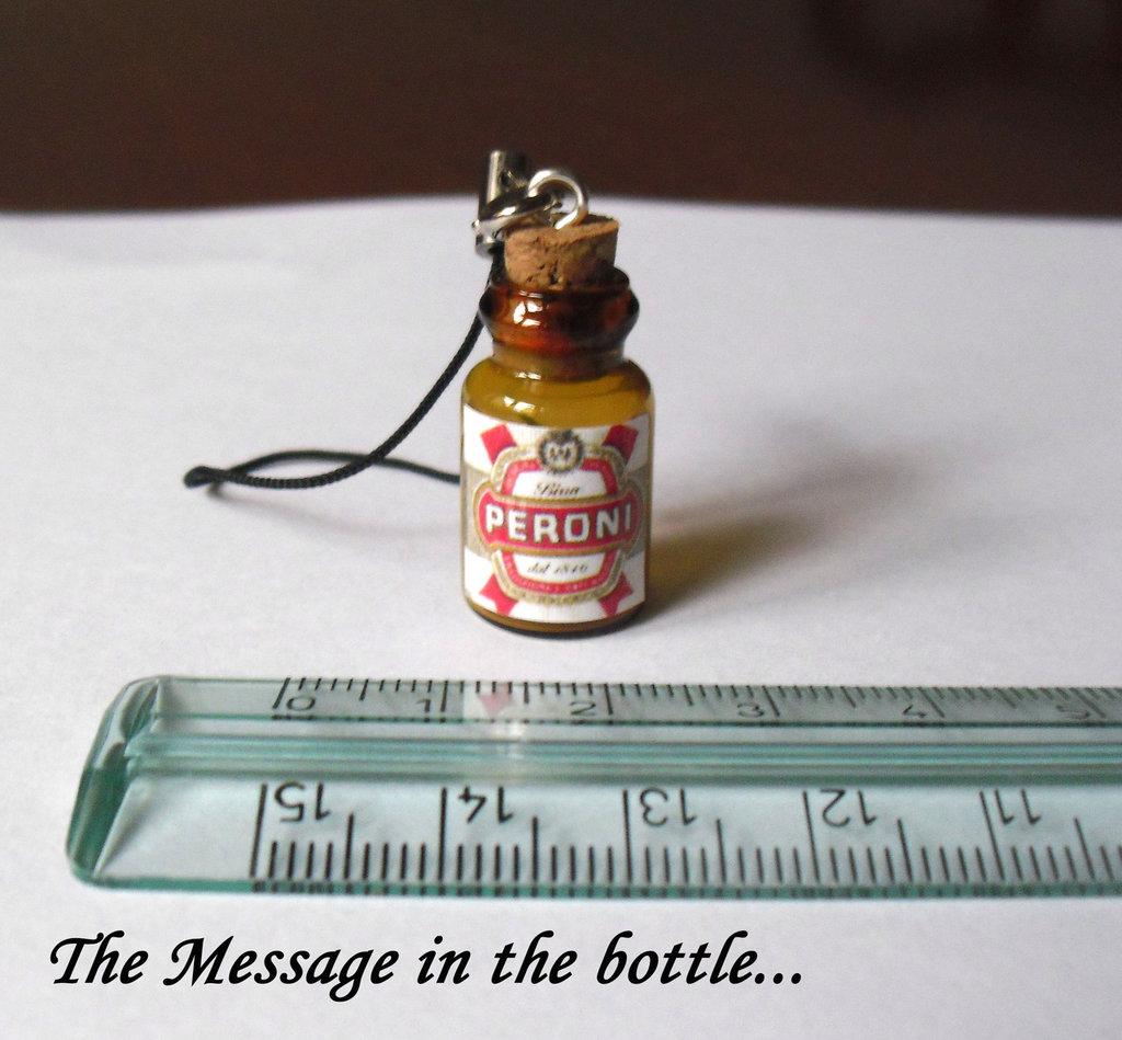 Phone Charm Birra Peroni - Ciondolo per il cellulare