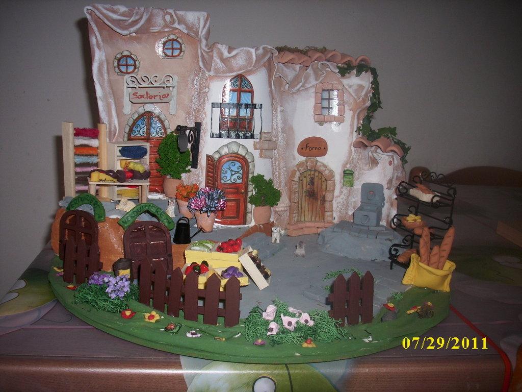 villaggio in miniatura