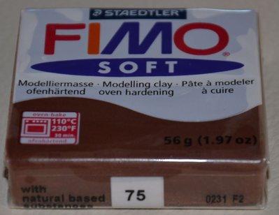 FIMO SOFT CIOCCOLATO N. 75